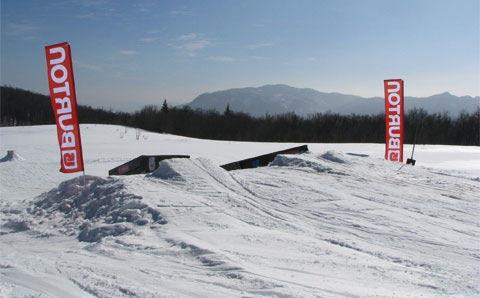 Snowboard park Ogulin