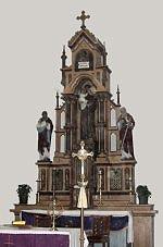 Oltar crkve Sv. Antuna Padovanskog u G. Stolu