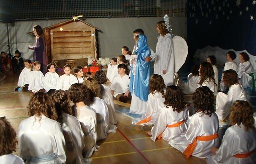 Kazališna predstava OŠ I.B. Mažuranić, Ogulin - Anđeosko navještenja - 2009