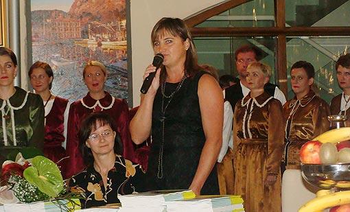 Anđelka Salopek predstavlja svoj Priručnik za razrednu nastavu
