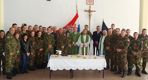 U službu uveden vojni kapelan fra Marijan Jelušić