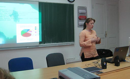 Jana Bedek dipl. ing. biologije -  predavanje u Ogulinu