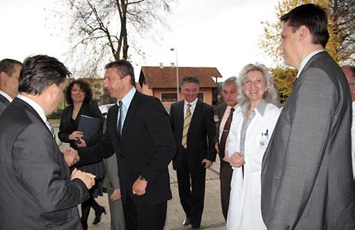 Ministar Milinović posjetio ogulinsku bolnicu - 17.11.2009.