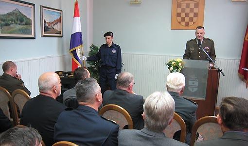 Svečano obilježavanje 18. obljetnice osnutka ogulinske 143. brigade Hrvatske vojske