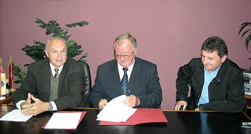 Potpisan ugovor o kupoprodaji nekretnine u Poduzetničkoj zoni Ogulin