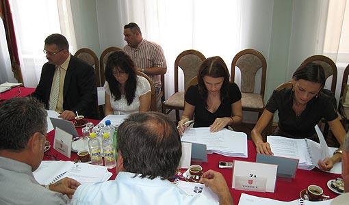 Sjednica Gradskog vijeća 4. rujna 2009.