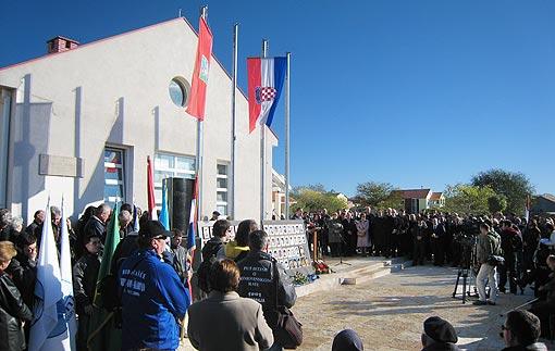 Komemoracija žrtvama Škabrnje
