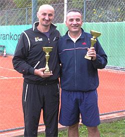 Finalist Nikola Starčević i pobjednik Mladen Stipetić.