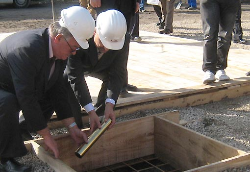 Svečano položen kamen temeljac za izgradnju stambeno – poslovne zgrade