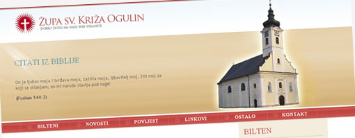 Web Župe Sv. Križa Ogulin