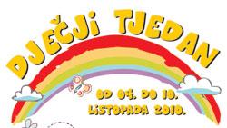Najava - Dječji tjedan od 4. do 10. listopada 2010.