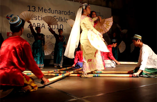 13.  Međunarodni festival folklora ZABA 2010