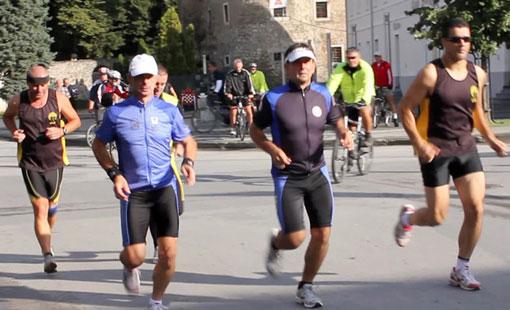 Maratonsko trčanje od   Ogulina do Slunja