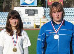 Maja Orlić i njen brat Vedran prvaci su Hrvatske u strjeličarstvu
