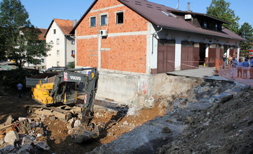 Započeli radovi na proširenju Vatrogasnog doma u Ogulinu
