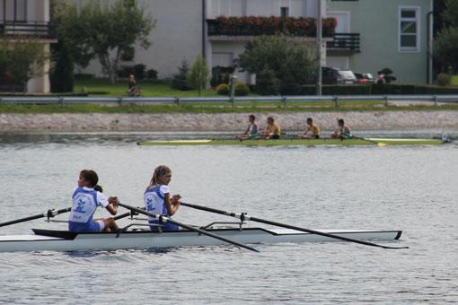 Natjecanje u  veslanju na Jezeru Sabljaci