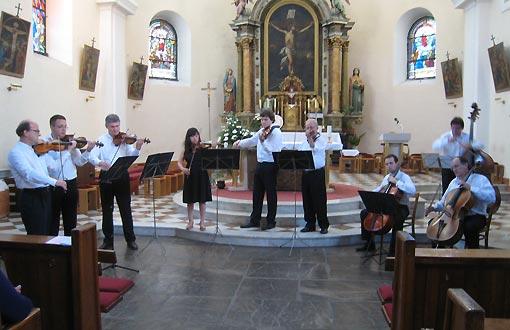 Koncert Zagrebačkih solista u župnoj crkvi Sv. Križa