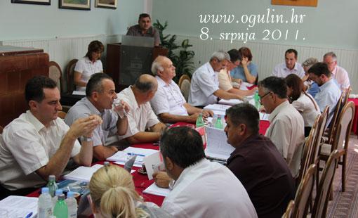 Odluke i zaključci 15. sjednice Gradskog vijeća Grada Ogulina održane 8. srpnja 2011.