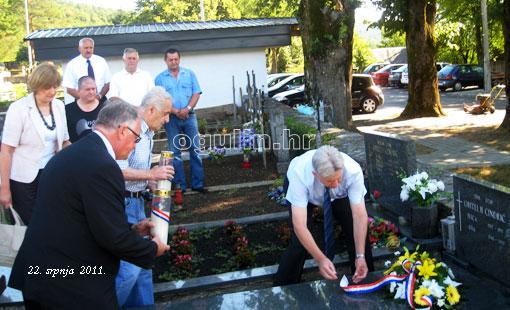 20. obljetnica napada srpskog agresora na Ogulin