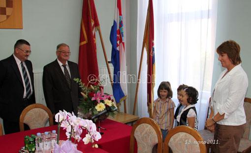 Čestitari kod gradonačelnika
