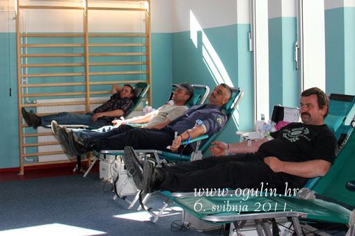Trece po redu darivanje krvi