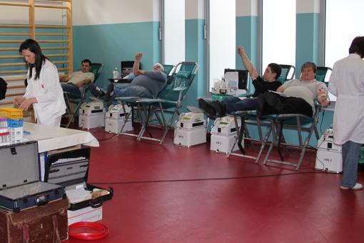 Prva akcija dobrovoljnog darivanja krvi u 2011.godini