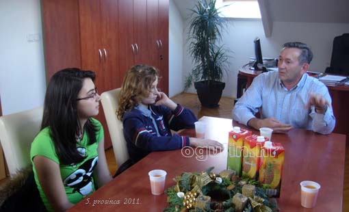 Članovi dječjeg Gradskog vijeća posjetili Stambeno komunalno gospodarstvo d.o.o. Ogulin
