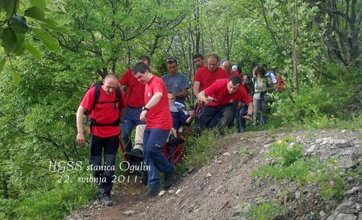 Spašen unesrećeni planinar
