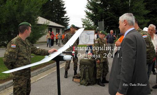 """Susret pričuvnih časnika  Hrvatskog časničkog zbora Republike Hrvatske """"Karlovac 2011"""""""