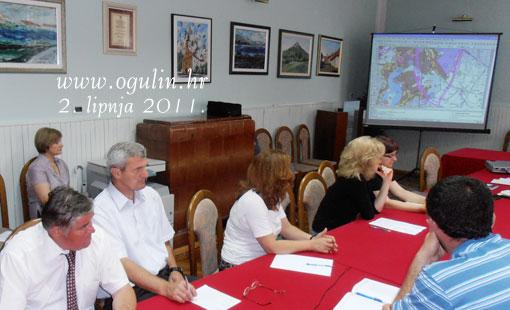 Javno izlaganje o Prostornom planu uređenja grada Ogulina