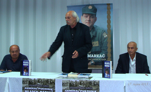 "Predstavljena knjiga Mladena Pavkovića ""General pukovnik Mladen Markač"""