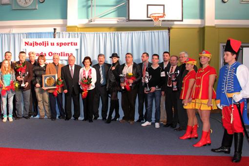 Najbolji u sportu Grada Ogulina  u 2010-toj