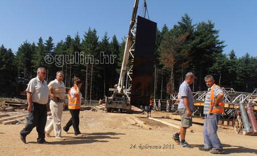 Gradonačelnik obišao gradilišta na području grada Ogulina