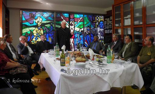 Ogulinci kod biskupa Jezerinca