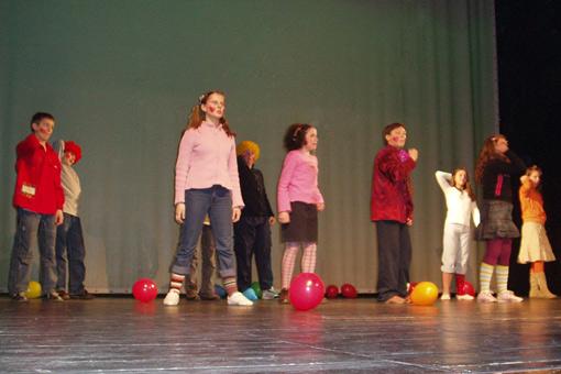 Kreativnost naših učenika na županijskom Lidranu 2011.