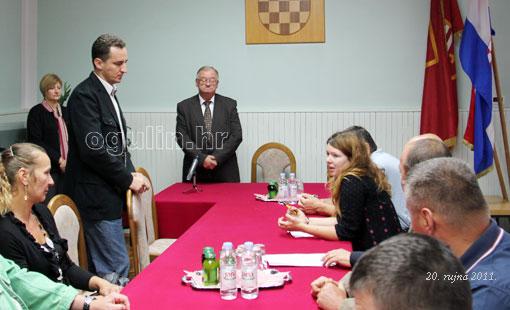 Gradonačelnik primio predstavnike sindikata poljskih željeznica