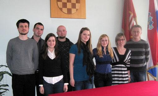 Savjet mladih Grada Ogulina ugostio Samoborce