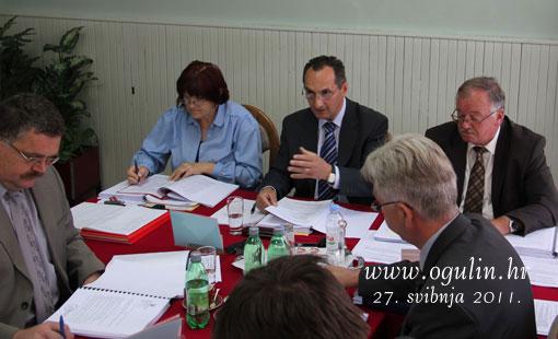 Odluke i zaključci 14. sjednice Gradskog vijeća Grada Ogulina održane 27. svibnja 2011.