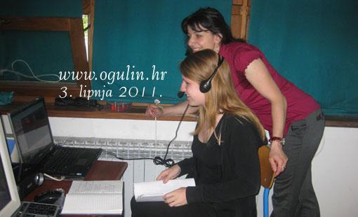 Korištenje Skypea u nastavi učenika Gimnazije Bernardina Frankopana