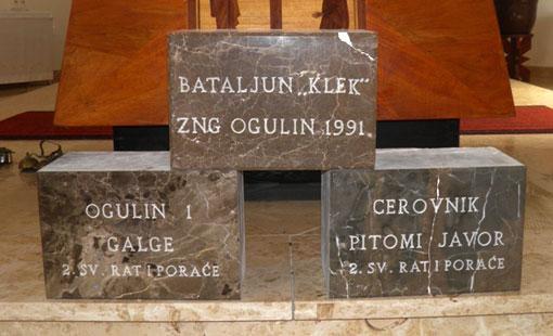 Najave proslave 20. obljetnice obrane od agresije na Ogulinski kraj