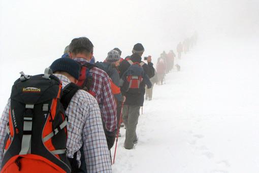 Članovi HPD Kleka nazočili 18. planinarskom zimskom usponu na Svetu Geru