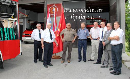 Primopredaja vatrogasnog vozila