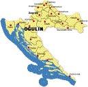 Ogulin u Hrvatskoj