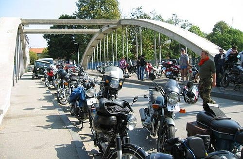 Old timer motor rally