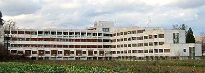 Opća bolnica Ogulin - pogled s juga