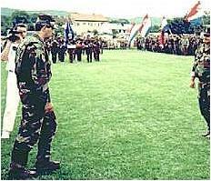 143. brigada - prijavak zapovjedniku - studeni 1991.