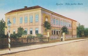 Viša pučka škola,kasnije Gimnazija