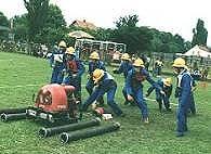 vježba vatrogasaca